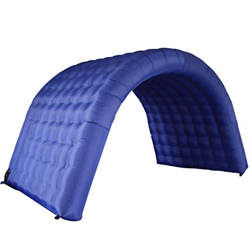 Sayok Inflatable Tunnel Sports Tunnel Entrance Inflatable Tunnel Tent for Event Exhibition Promotion(Blue, 7.87x7.87x8.2ft)