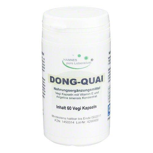 DONG QUAI Vegi Kapseln 500 mg 60 St Kapseln