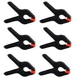 Heavy Duty Muslin Clamps 4 1/2 inch 6 Pack