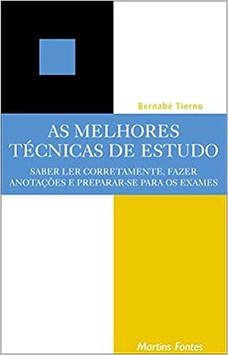 Book As Melhores Técnicas de Estudo (Em Portuguese do Brasil)