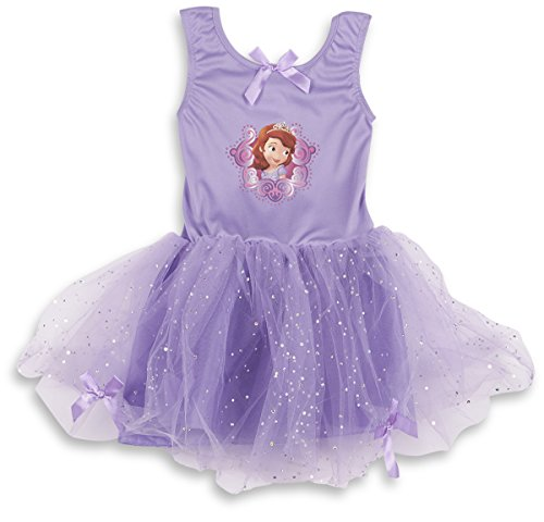 DISNEY SOFIA THE FIRST Girls Princess Fancy Dress Outfit - Purple - 5-6 Years (First Halloween Outfit)