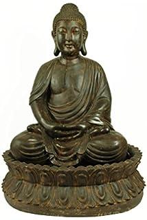 Ambiente Fuente de Jardín Buda en Meditación: Amazon.es: Hogar