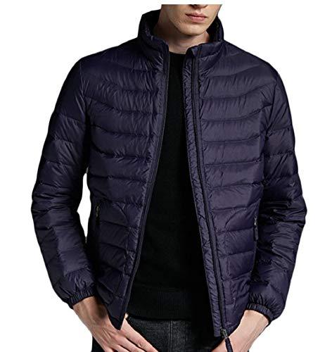 Winter Mens Puffer 2 Gocgt Jackets Outwear Down Coats Lightweight Warm vEqXdwnS
