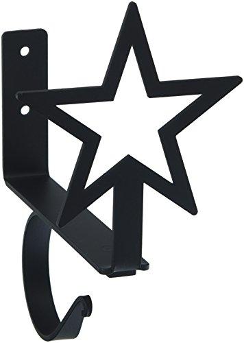 7.5 Inch Star Curtain Shelf Brackets ()