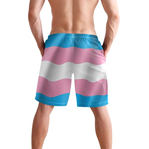 Cow Skin Print Pattern Men/'s Beach Board Shorts Quick Dry Swim Truck Shorts White