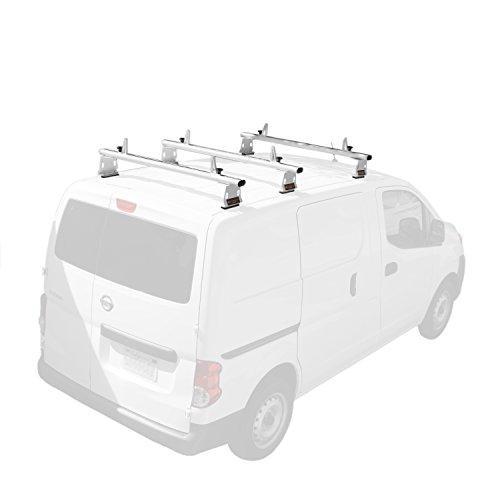 Nv System - AA-Racks Model AX302 Nissan NV200(2013-On) Aluminum 3 Bar (50