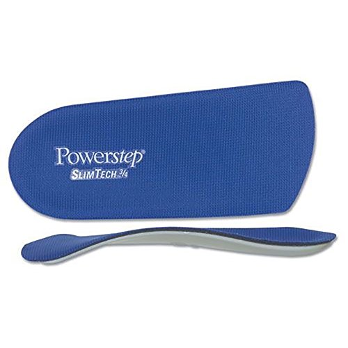 Physical Therapy Aids 081173210 Powerstep Insoles E Slimtech by Physical Therapy Aids