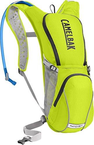 CamelBak Ratchet Crux Reservoir Hydration Pack, Lime Punch/Silver, 3 L/100 oz