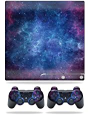MightySkins Skin Compatible with Sony Playstation 3 Slim Console wrap Sticker Skins Nebula