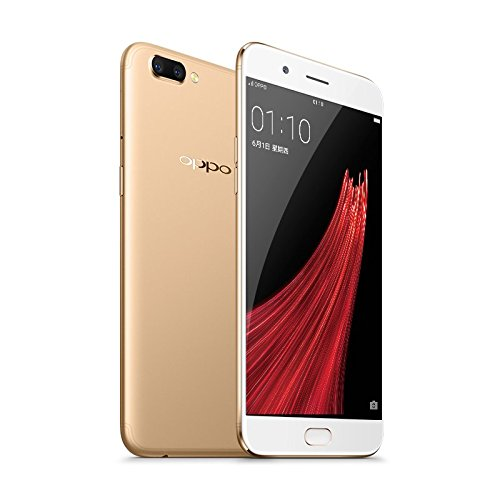 "6.0"" Original OPPO R11 Plus Mobile Phone Android 7.1 4G LTE Snapdragon 660 Octa Core 6G+64G 20MP Selfie Fashion VOOC 4000mAh (Gold)"