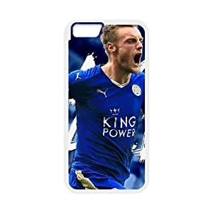 Generic hard plastic Jamie Vardy Cell Phone Case for iPhone 6 Plus 6S Plus 5.5 inch White ABC8360305