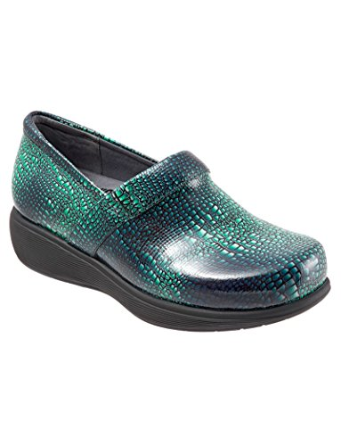 Softwalk Donna Meredith Zoccolo Verde Croco