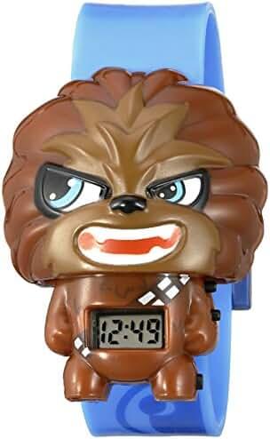 BulbBotz Kids' 2020169 Star Wars Chewbacca Quartz Watch