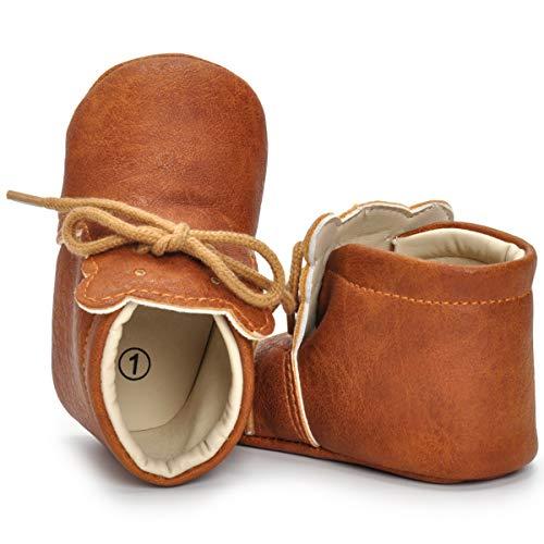 LIVEBOX Baby Soft Leather Shoes Moccasins Toddler Walker Shoes