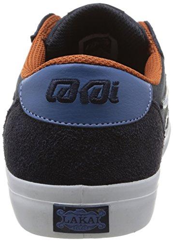 Lakai Pico - Zapatillas de Skateboarding de cuero hombre azul - Bleu (Navy Suede)
