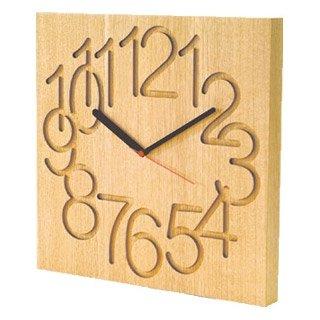 コサイン(cosine) 木の時計 MUKU時計(大)ナラ CW-09CN B003GAG6FYナラ