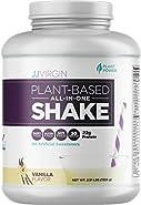 JJ Virgin VANILLA Plant Based All In One Protein Powder Shake (Brand New Packaging)