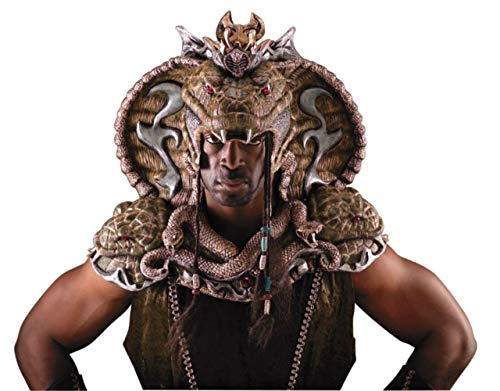 Serpent Lord Head And Shoulder Horror Adult Halloween Costume ()