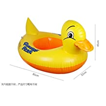 EWIN(R) 1PCS Baby's Inflatable Safety Swim Duck Animals Kids Tube Seat Float Boat Ring