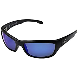 Kaenon Adult Cowell Sunglasses, Matte Black / Pacific Blue, One Size