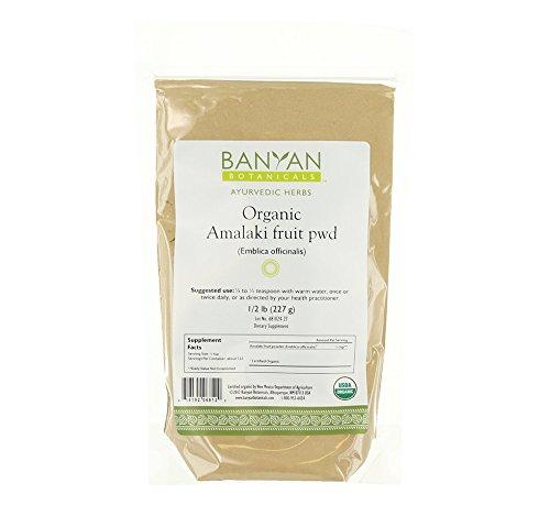 Banyan Botanicals Amalaki (Amla) Powder, 1/2 Pound - USDA Organic - Emblica officinalis - Ayurvedic Antioxidant for Hair, Skin, Digestion*