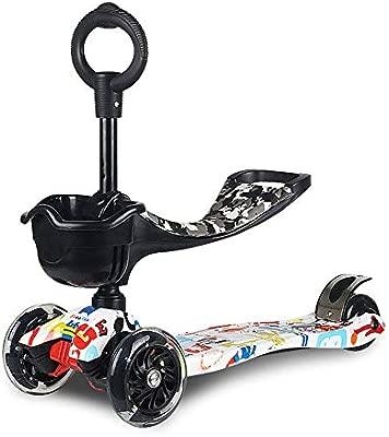CAR- Childrens Scooter Patinete para Niño Altura De La ...