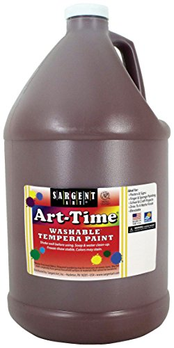 tempera paint brown - 3
