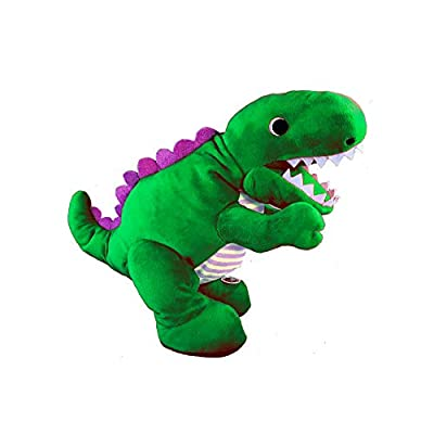 Bonkers Toys Ryan's World Roaring Green Dinosaur: Toys & Games