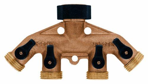 Orbit 4 Port Faucet Manifold Tri Lingual