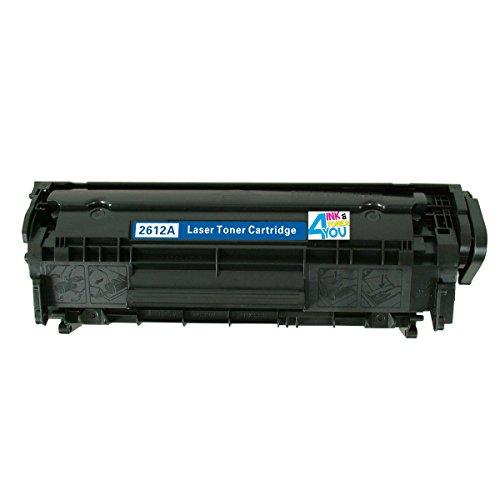 Ink & Toner 4 You ® Compatible Black Laser Toner Cartridge for HP Q2612A (12A) Works With HP LaserJet 1010 LaserJet 1012 Laserjet 1018 Laserjet 1020 Laserjet 1022 Laserjet 1022n Laserjet 1022nw Laserjet 3015 Laserjet 3020 Laserjet 3030 Laserjet 3050 Lase