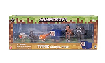 Minecraft Tame Animal Pack by Jazwares Domestic