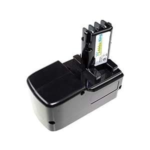 Repuesto rey Batería para Metabo BST - 18 PLUS hornsea 631739, ula9, 6-18 - 3000 mAh 18 V Ni-MH