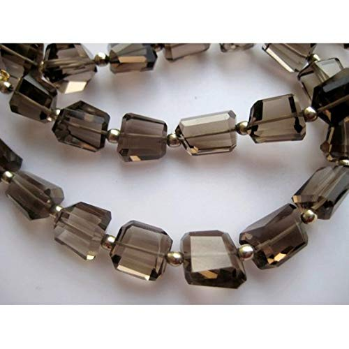 Nugget Smoky Quartz Beads - KALISA GEMS Beads Gemstone 1 Strand Natural Smoky Quartz Beads, Nugget Beads, 11mm to 7mm Each, 13 Inch