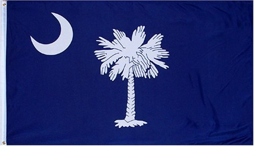Online Stores South Carolina 3ft x 5ft Printed Polyester Flag