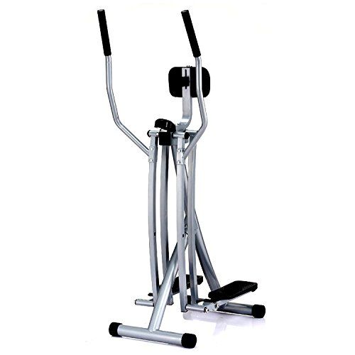 Sunny Health & Fitness SF E902 Air Walk Trainer Elliptical Machine Glider w/ LCD Monitor