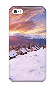7888396K27080632 Awesome Winter Flip Case With Fashion Design For Iphone 5/5s