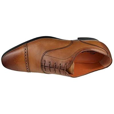 Santoni Mens Shoes Fitz Cap Toe Balmoral Fitz-5-Tan