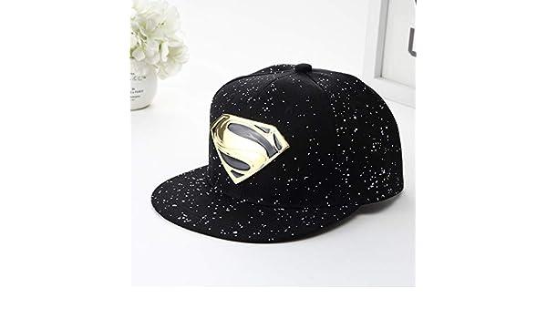 Versión Coreana de la Nueva Gorra de béisbol de Superman, par de ...