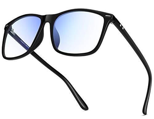 YAROCE Blue Light Blocking Glasses Anti Glare Computer Glasses Vintage Blue Blocker Glasses Square Blue Light Glasses Women Men UV ()