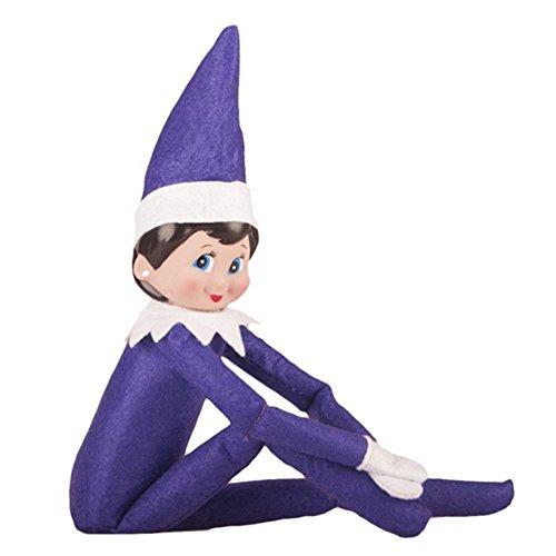 JonMinion 2019 Christmas Birthday Novelty Elf Plush Dolls On The Toys Shelf -
