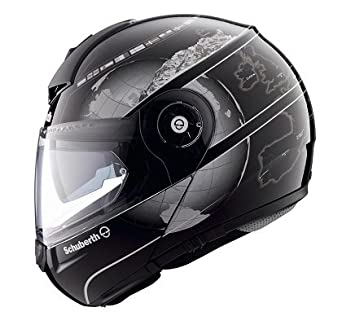 schuberth c3 pro europe black flip up helmet. Black Bedroom Furniture Sets. Home Design Ideas