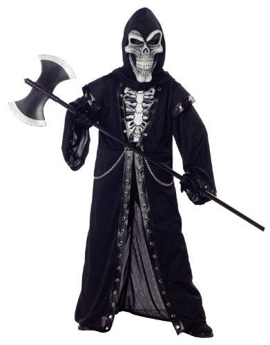 The Best Grim Reaper Costume (Crypt Master Costume - Small)