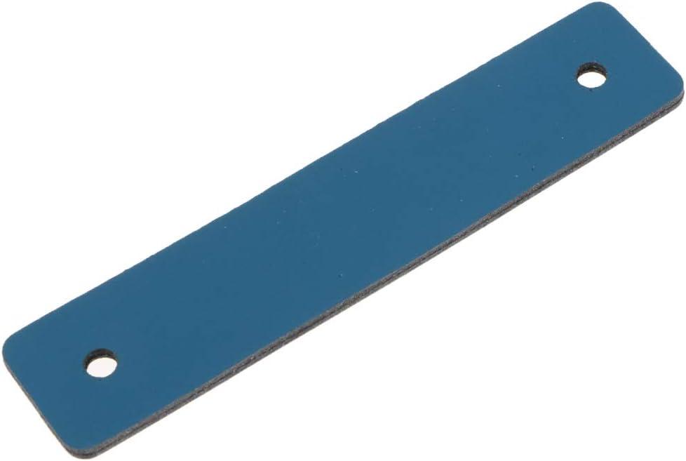 Tiradores de Caj/ón Cuero Manija de Gabinete Perilla de Puerta Maleta Equipaje Cierre Tracci/ón DIY Azul