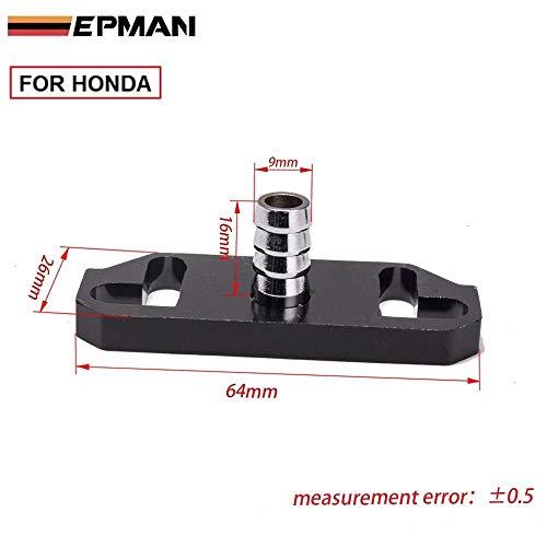 Epman Black Fuel Regulator Delivery Adapter For Sard Regulator Fit for Honda TR-OL6350 (1PC)