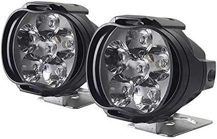 Ksruee Foco LED para Motocicleta, Foco Externo Universal para ...