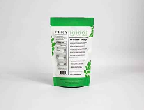 100 Pure Raw Organic Moringa Leaf Superfood Powder 564 oz - Ultra Potent Plant Sourced Omegas Phytonutrients Amino Acids Iron Potassium - Energy Boosting Antioxidant Supplement by FERA Moringa Discount
