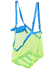 Sand Beach Mesh Storage Bag For Kids Summer Beach Shell Toys Clothes Tote Bags