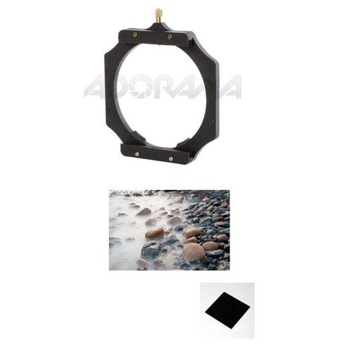 Lee Filters Foundation Kit / Filter Holder - Bundle with Lee Filters 100 x 100mm Big Stopper 3.0 Neutral Density Filter 10-Stop by Lee Filters