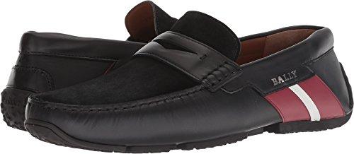 Bally Leather Loafers - BALLY  Men's Piotre-310 Black 10.5 D UK