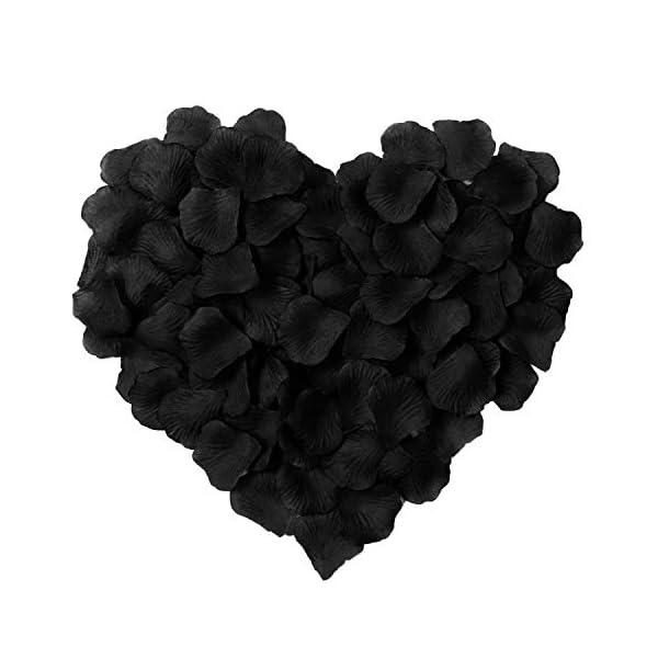 HLLbuy-2000-Pieces-Black-Artificial-Flower-Petals-Silk-Rose-Petals-for-Wedding-Party-and-Home-Decor